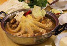 cách nấu lẩu bạch tuộc chua cay thơm ngon